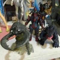 monster ultraman musuh tiga leo taro 80 ginga gaia ultra man