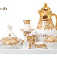 Tea Set Vacuum Flask Vicenza VF16 / perlengkapan minum teh panas 25pcs