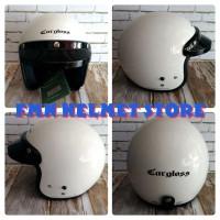 Helm Cargloss CF Retro Super Whity White
