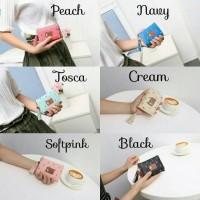 dompet wanita import Pandora wallet kecil lipat imut fashion korea