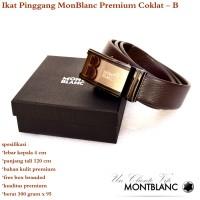 Ikat pinggang / sabuk / Gesper Monblanc Premium Coklat B