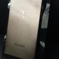 Iphone 5 - 5s Hard Case Ferrari Gold Black casing cover bumper armor