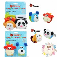 SOZZY WRIST RATTLE BAND - GELANG RATTLE