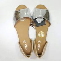 sepatu rubi flat shoes silver 37, 39, 40