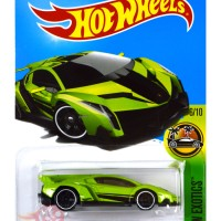 Lamborghini Veneno HIJAU / GREEN - Hot Wheels HW Hotwheels