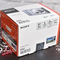 NEW - SONY Cyber-shot DSC-W810 - Gudang Kamera Malang