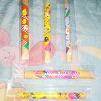 suling bambu mainan anak bersuara burung