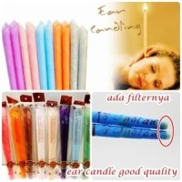 Harga sepasang Ear Candle Aromatherapy/Terapi lilin untuk memperbaiki