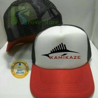 Topi Trucker Team Kamikaze Fishing Mancing Mania - Reove Store
