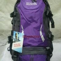 harga Tas Ransel Gunung Hiking Daypack Backpack Royal Mountain 50l Original Tokopedia.com