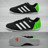 Sepatu Futsal Adidas 11 pro Black-White Komponen Ori