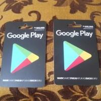 Voucher Google Play Rp. 300,000