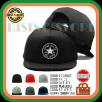 TOPI PRIA SNAPBACK CONVERSE PUNK ROCK ALL STAR 2 - Dipilihaja-shop