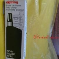 Jual Rotring Tinta / ink graphic pen isi Refill Rapido, teknik Original Murah