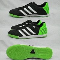 Sepatu Futsal Adidas 11 pro Black-White Sol Karet mentah