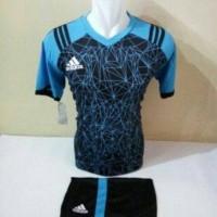 Baju Kaos Tim Volly Setelan Futsal Jersy Bola Adidas