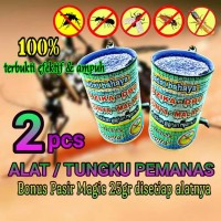 Jual 2pcs ALAT/TUNGKU PEMANAS obat nyamuk elektrik pasir magic Murah