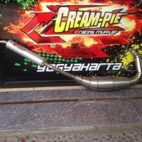 Knalpot Creampie Ninja R/RR Tipe Ns2 Stainlees