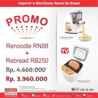 Promo ReNoodle RN-88 + ReBread RB250 Gold / ReNoodle ReBread Maker