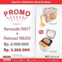 Promo ReNoodle RN-77 + ReBread RB250 Gold / ReNoodle ReBread Maker
