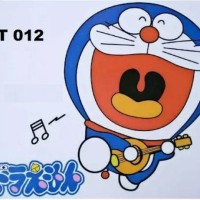 Jual Wallpaper Doraemon Gitar ST-012 - Stiker Dinding / Wall Sticker /
