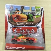 Cars Rip Clutchgoneski World Grand Prix Mattel Disney Pixar Diecast