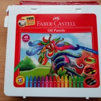 Crayon Faber Castell oil pastel 48 warna