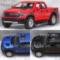 Ford F-150 Raptor Pickup Miniatur Mobil Mobilan Mainan Truck Truk Bak