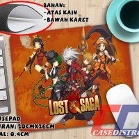 Mousepad Tatakan mouse game online Lost Saga (LS) uk A4