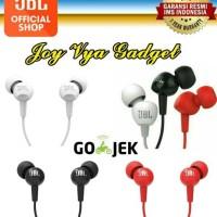 JBL C100SI In - Ear Headphones with Mic - Original - Hitam