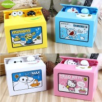 Jual Celengan Minion Doraemon Hello Kitty Baymax pencuri uang koin kado  Murah