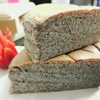 ogura cake (ketan hitam)