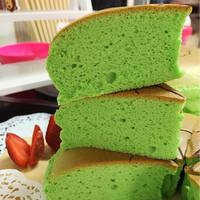 ogura cake (pandan)