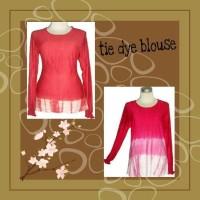 SALE!! Cuci Gudang Blouse tie dye