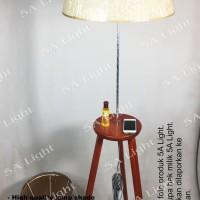 Standing Lamp / Floor Lamp / Lampu Hias / Lampu Meja - Tripod