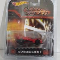 Hotwheels Koenigsegg Agera R (free protektor)