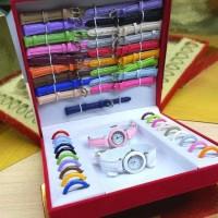TERMURAH!! Jam Tangan Wanita Paket dapat banyak tali / Kado Valentine
