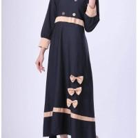 GAMIS / LONG DRESS MUSLIMAH KASUAL WANITA- HSN 0060 bonus TAS KOSMETIK