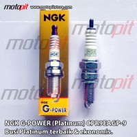 NGK G Power Platinum CPR9EAGP-9 Busi Beat Scoopy Vario FI