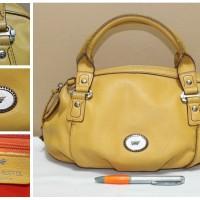 Tas branded BRAUN BUFFEL BB170 Yellow mustard handbag second ori
