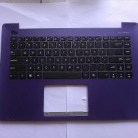 KEYBOARD LAPTOP ASUS X453MA WITH FRAME UNGU