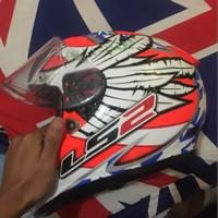 Helm Full Face Balap LS2 Evo
