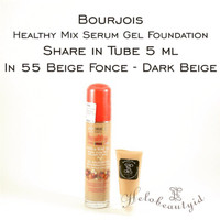 Share in Tube 5ml Bourjois Healthy Mix Serum in 55 Beige Fonce