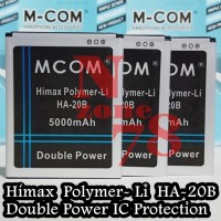 Baterai Himax Polymer Li HA-20B Double Power IC Protection