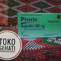 PRORIS SUPPOSITORIA _ Ibuprofen 125mg