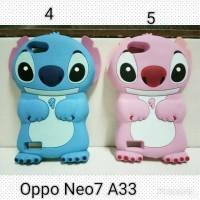 Jual Case Stitch Oppo Neo 7 / Silicon case Oppo Neo7 A33 Karakter Murah