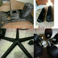1set spare part second kursi kantor