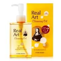 Jual Etude House Real Art Moisture Cleansing Oil 185ml Murah