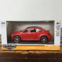 Jada Big Time Kustoms Volkswagen VW The Beetle Red Skala 32