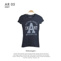 WOMEN T-SHIRT BRANDED AEROPOSTALE   Kaos Wanita Kaos Oblong